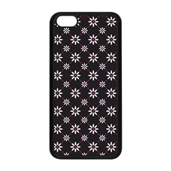 Sunflower Star Floral Purple Pink Apple Iphone 5c Seamless Case (black) by Mariart