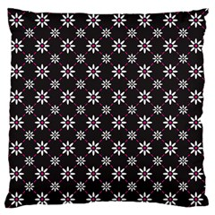 Sunflower Star Floral Purple Pink Standard Flano Cushion Case (two Sides)