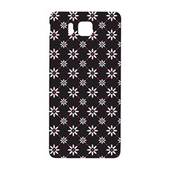 Sunflower Star Floral Purple Pink Samsung Galaxy Alpha Hardshell Back Case by Mariart