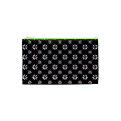 Sunflower Star Floral Purple Pink Cosmetic Bag (xs) by Mariart