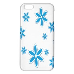 Star Flower Blue Iphone 6 Plus/6s Plus Tpu Case by Mariart