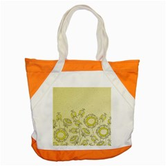Sunflower Fly Flower Floral Accent Tote Bag by Mariart