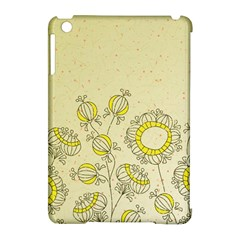 Sunflower Fly Flower Floral Apple Ipad Mini Hardshell Case (compatible With Smart Cover) by Mariart