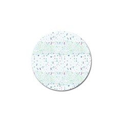 Spot Polka Dots Blue Pink Sexy Golf Ball Marker (10 Pack) by Mariart