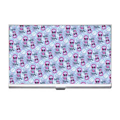 Pattern Kitty Headphones  Business Card Holders by iCreate