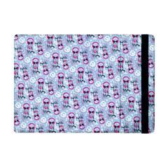 Pattern Kitty Headphones  Apple Ipad Mini Flip Case by iCreate