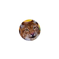 Tiger Beetle Lion Tiger Animals 1  Mini Magnets by Mariart