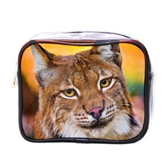 Tiger Beetle Lion Tiger Animals Mini Toiletries Bags by Mariart