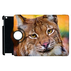 Tiger Beetle Lion Tiger Animals Apple Ipad 3/4 Flip 360 Case by Mariart