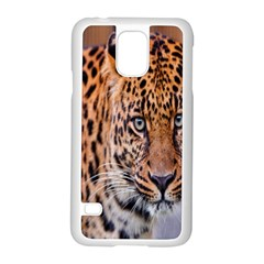 Tiger Beetle Lion Tiger Animals Leopard Samsung Galaxy S5 Case (white) by Mariart