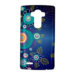 Flower Blue Floral Sunflower Star Polka Dots Sexy Lg G4 Hardshell Case by Mariart