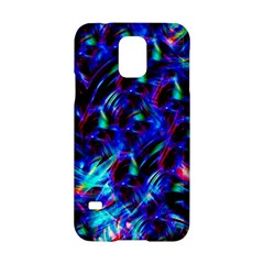 Dark Neon Stuff Blue Red Black Rainbow Light Samsung Galaxy S5 Hardshell Case  by Mariart