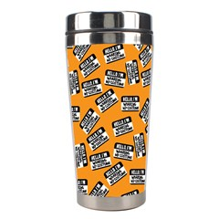 Pattern Halloween  Stainless Steel Travel Tumblers by iCreate