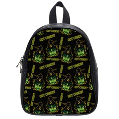 Pattern Halloween Witch Got Candy? Icreate School Bag (small) by iCreate