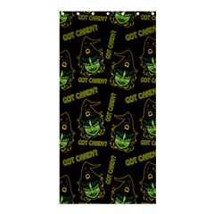 Pattern Halloween Witch Got Candy? Icreate Shower Curtain 36  X 72  (stall)  by iCreate