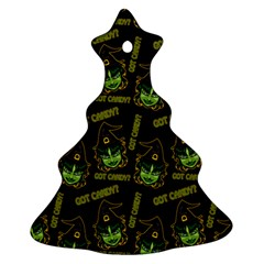 Pattern Halloween Witch Got Candy? Icreate Ornament (christmas Tree)  by iCreate