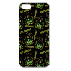 Pattern Halloween Witch Got Candy? Icreate Apple Seamless Iphone 5 Case (clear)