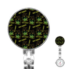 Pattern Halloween Witch Got Candy? Icreate Stainless Steel Nurses Watch by iCreate