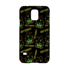 Pattern Halloween Witch Got Candy? Icreate Samsung Galaxy S5 Hardshell Case  by iCreate