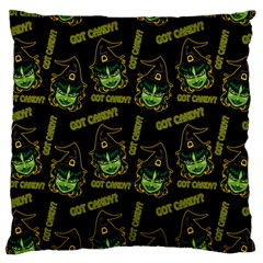 Pattern Halloween Witch Got Candy? Icreate Standard Flano Cushion Case (one Side) by iCreate