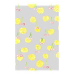 Cute Fruit Cerry Yellow Green Pink Shower Curtain 48  X 72  (small)  by Mariart