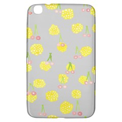 Cute Fruit Cerry Yellow Green Pink Samsung Galaxy Tab 3 (8 ) T3100 Hardshell Case  by Mariart