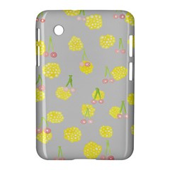 Cute Fruit Cerry Yellow Green Pink Samsung Galaxy Tab 2 (7 ) P3100 Hardshell Case  by Mariart