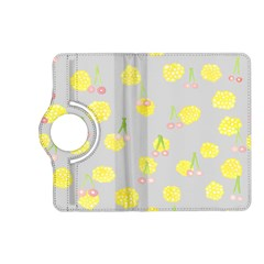 Cute Fruit Cerry Yellow Green Pink Kindle Fire Hd (2013) Flip 360 Case by Mariart