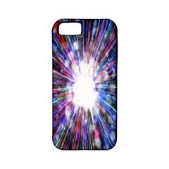 Seamless Animation Of Abstract Colorful Laser Light And Fireworks Rainbow Apple Iphone 5 Classic Hardshell Case (pc+silicone) by Mariart