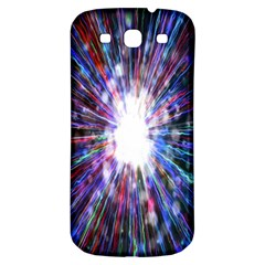 Seamless Animation Of Abstract Colorful Laser Light And Fireworks Rainbow Samsung Galaxy S3 S Iii Classic Hardshell Back Case by Mariart