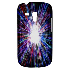 Seamless Animation Of Abstract Colorful Laser Light And Fireworks Rainbow Galaxy S3 Mini by Mariart