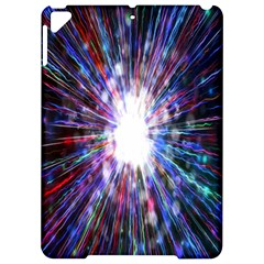 Seamless Animation Of Abstract Colorful Laser Light And Fireworks Rainbow Apple Ipad Pro 9 7   Hardshell Case by Mariart