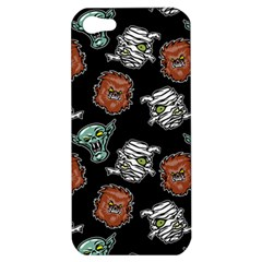 Pattern Halloween Werewolf Mummy Vampire Icreate Apple Iphone 5 Hardshell Case by iCreate