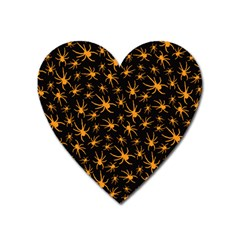 Halloween Spiders Heart Magnet by iCreate