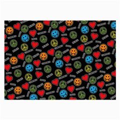 Pattern Halloween Peacelovevampires  Icreate Large Glasses Cloth by iCreate