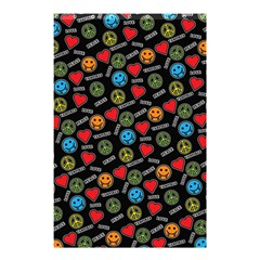 Pattern Halloween Peacelovevampires  Icreate Shower Curtain 48  X 72  (small)  by iCreate
