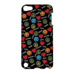 Pattern Halloween Peacelovevampires  Icreate Apple Ipod Touch 5 Hardshell Case by iCreate