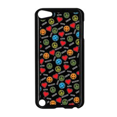 Pattern Halloween Peacelovevampires  Icreate Apple Ipod Touch 5 Case (black) by iCreate