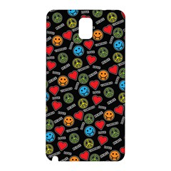 Pattern Halloween Peacelovevampires  Icreate Samsung Galaxy Note 3 N9005 Hardshell Back Case by iCreate