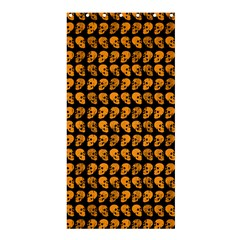 Halloween Color Skull Heads Shower Curtain 36  X 72  (stall)  by iCreate