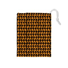 Halloween Color Skull Heads Drawstring Pouches (medium)  by iCreate