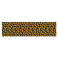 Pattern Halloween Candy Corn   Satin Scarf (oblong) by iCreate
