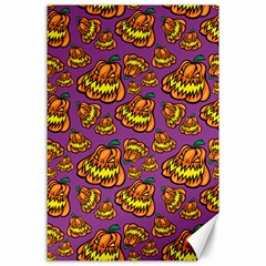 1pattern Halloween Colorfuljack Icreate Canvas 24  X 36  by iCreate