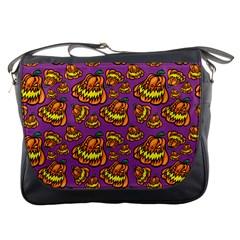 1pattern Halloween Colorfuljack Icreate Messenger Bags by iCreate