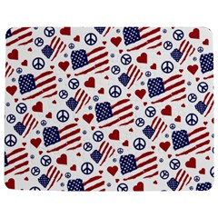 Peace Love America Icreate Jigsaw Puzzle Photo Stand (rectangular) by iCreate