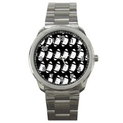 Footballs Icreate Sport Metal Watch by iCreate