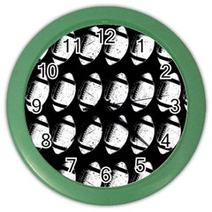 Footballs Icreate Color Wall Clocks by iCreate