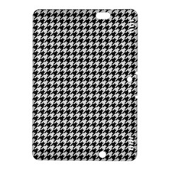 Friendly Houndstooth Pattern,black And White Kindle Fire Hdx 8 9  Hardshell Case by MoreColorsinLife