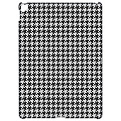 Friendly Houndstooth Pattern,black And White Apple Ipad Pro 12 9   Hardshell Case by MoreColorsinLife