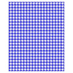 Friendly Houndstooth Pattern,blue Drawstring Bag (small) by MoreColorsinLife